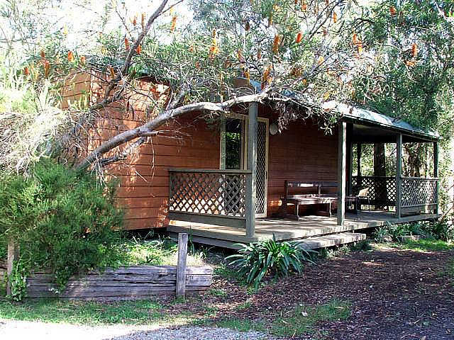 Jervis Bay Cabins  Hidden Creek Real Camping - Palm Beach Accommodation