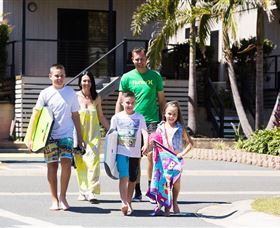 Burleigh Beach Tourist Park - Palm Beach Accommodation