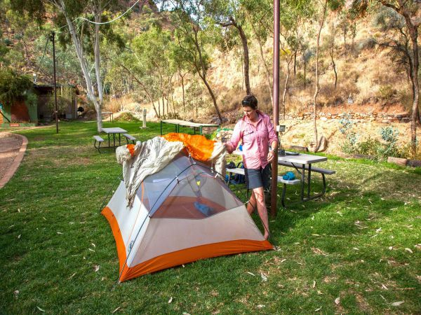 Standley Chasm Angkerle Camping - Palm Beach Accommodation