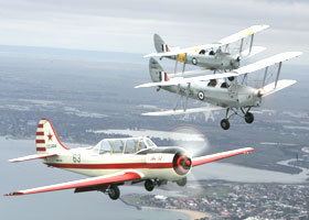 Vintage Tiger Moth Joy Flights - Palm Beach Accommodation