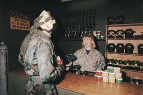 Indoor Skirmish - Paintball Sports - Palm Beach Accommodation