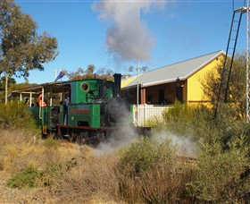Red Cliffs Historical Steam Railway - Palm Beach Accommodation
