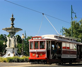 Bendigo Tramways Vintage Talking Tram Tour - Palm Beach Accommodation