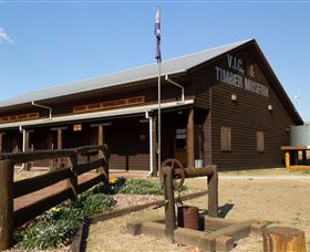 South Burnett Region Timber Industry Museum - Palm Beach Accommodation