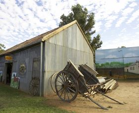 The Ned Kelly Blacksmith Shop - Palm Beach Accommodation
