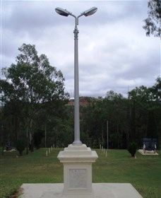 The Coronation Lamp Memorial