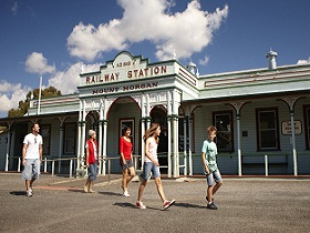 Mount Morgan Railway Museum - Palm Beach Accommodation