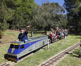 Willans Hill Miniature Railway - Palm Beach Accommodation