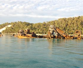 Tangalooma Wrecks Dive Site - Palm Beach Accommodation