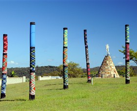 Maclean Tartan Power Poles - Palm Beach Accommodation