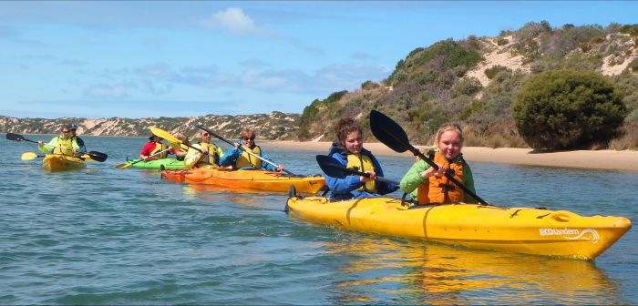 Canoe the Coorong - Palm Beach Accommodation