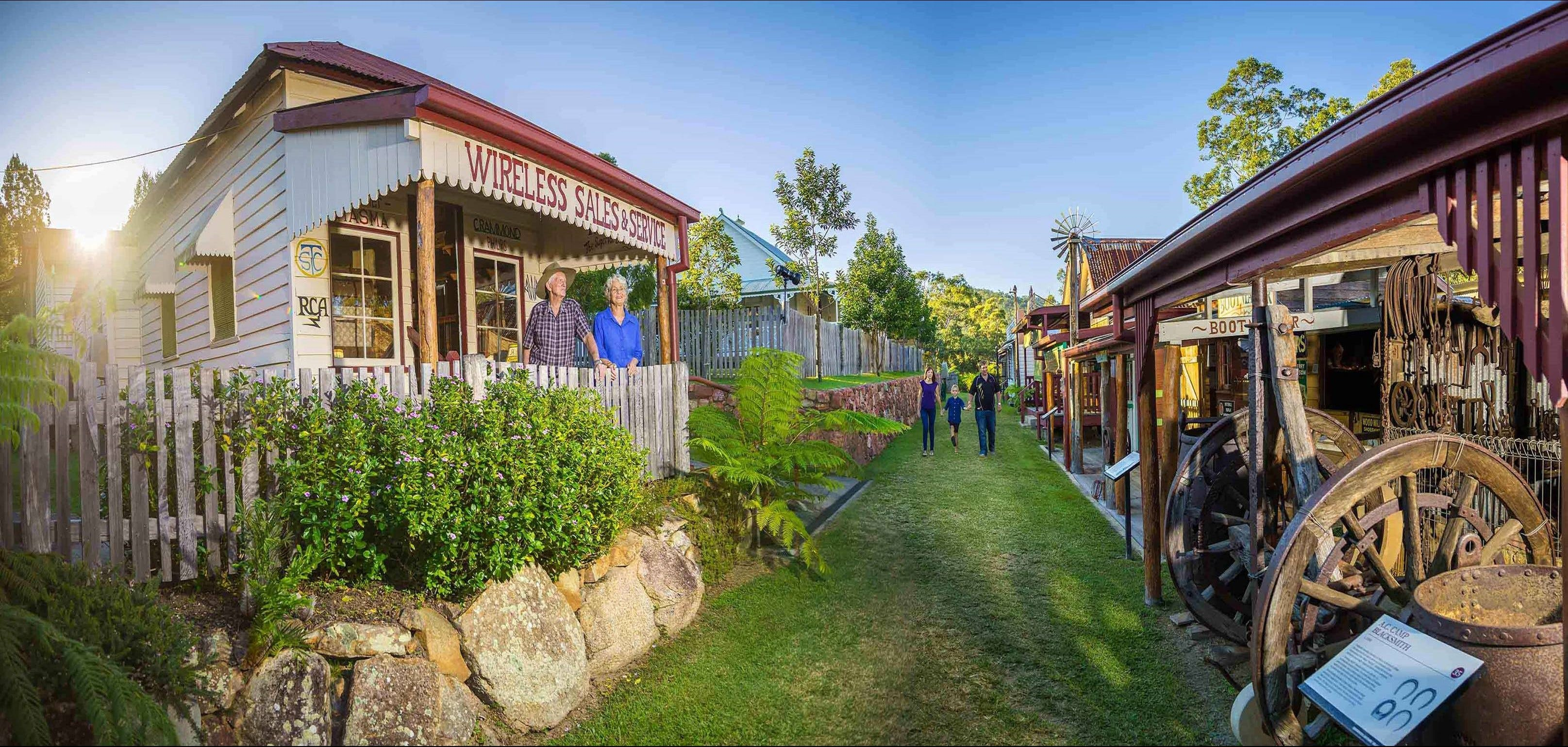 Historic Village Herberton - Palm Beach Accommodation