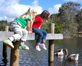Vasse River and Rotary Park - Palm Beach Accommodation