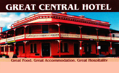 Great Central Hotel - Palm Beach Accommodation