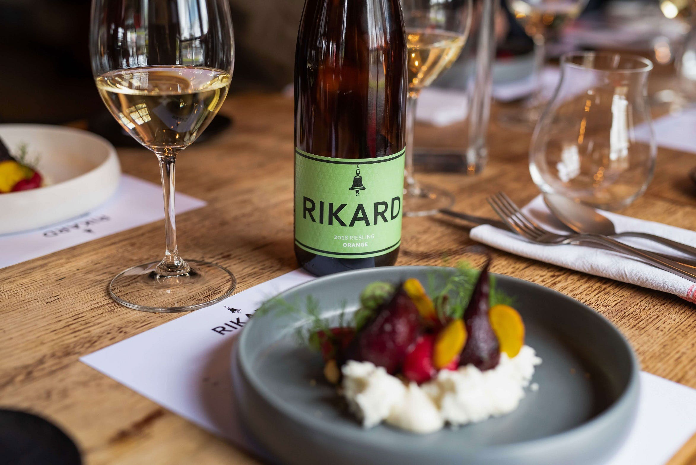 RIKARD Wines at Charred - Palm Beach Accommodation