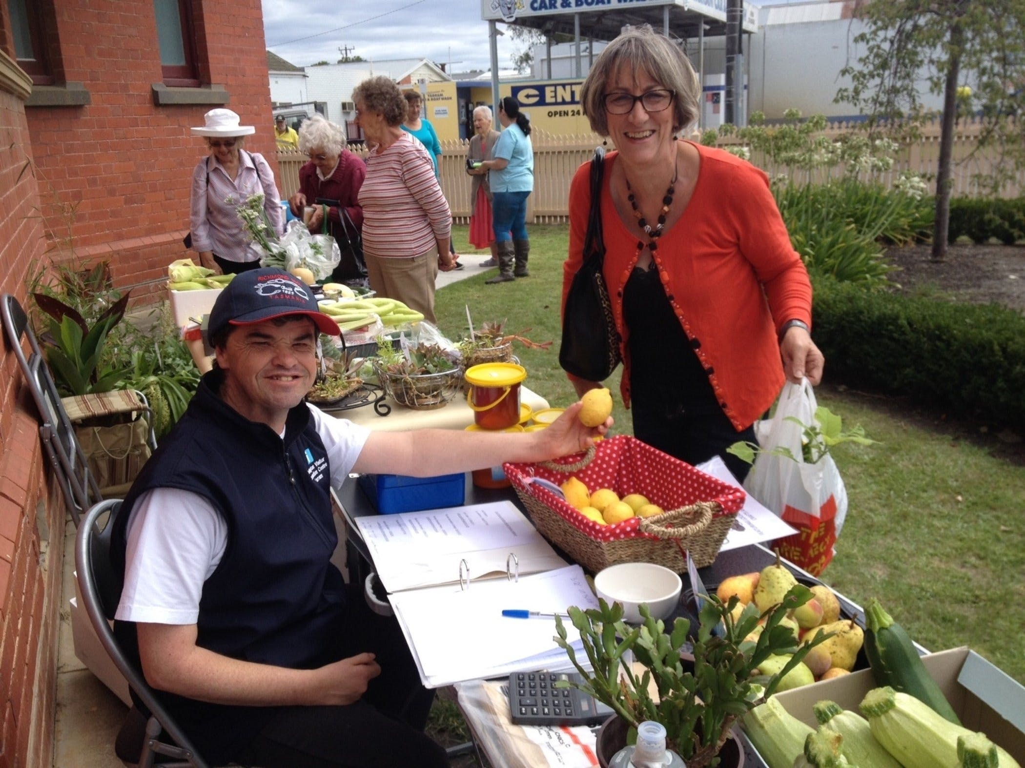 Yarram Courthouse Garden Produce Market - Palm Beach Accommodation