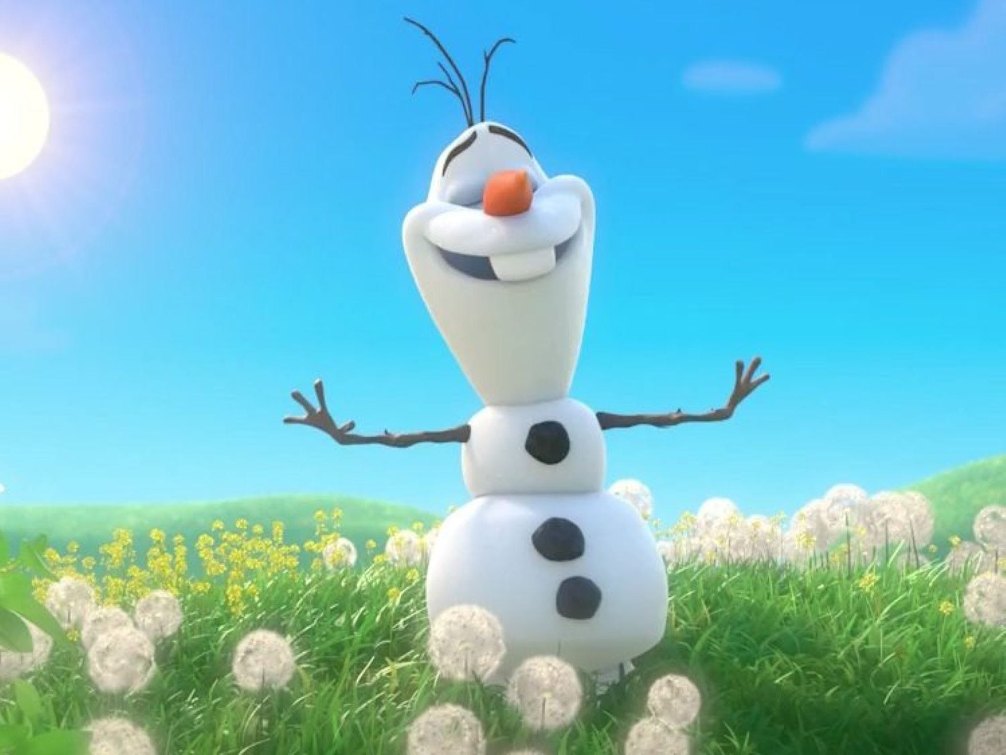 Meet Olaf from Frozen - Palm Beach Accommodation