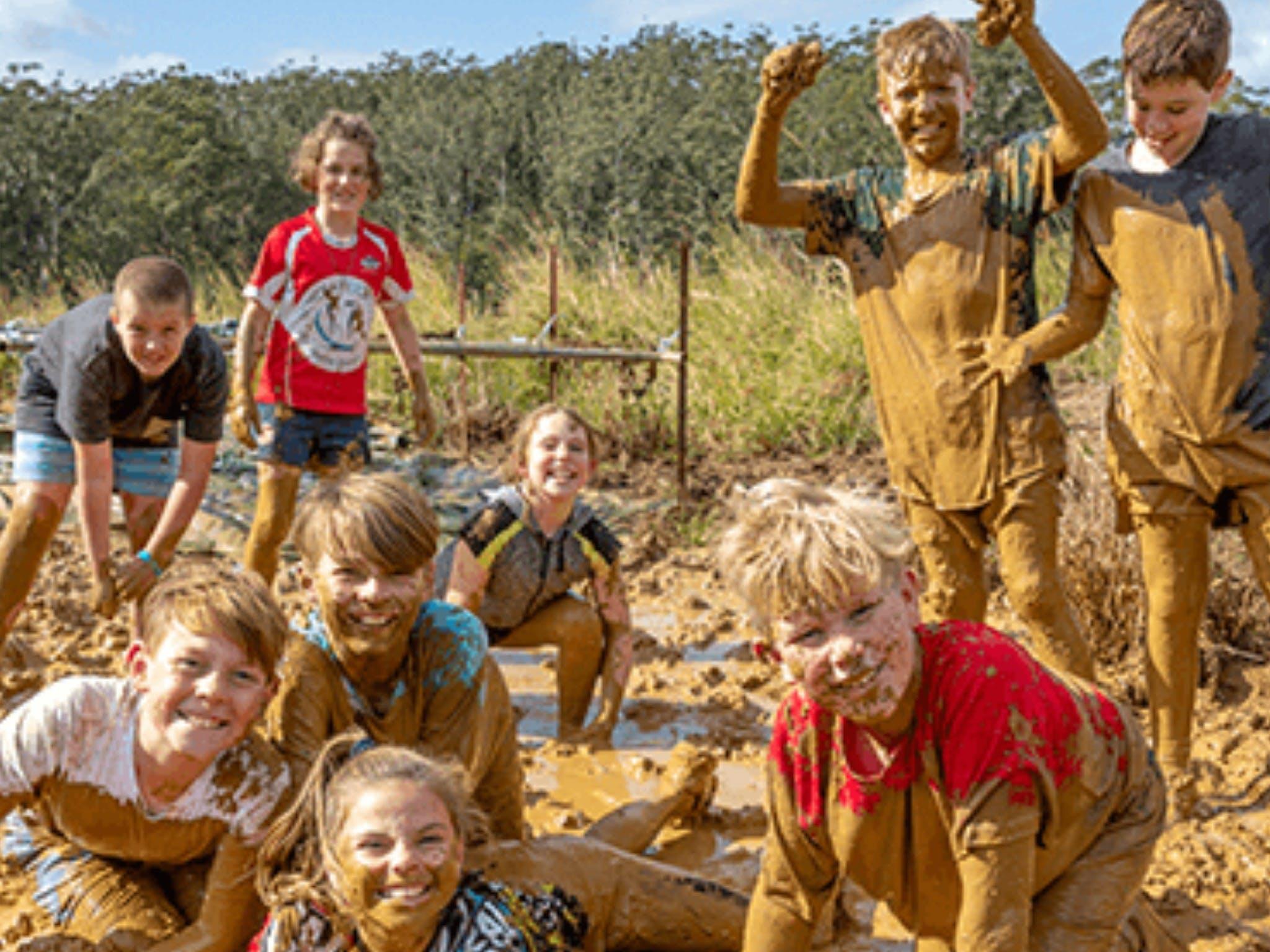 Mini Muddies Obstacle Challenge at Bunnamagoo Estate - Palm Beach Accommodation