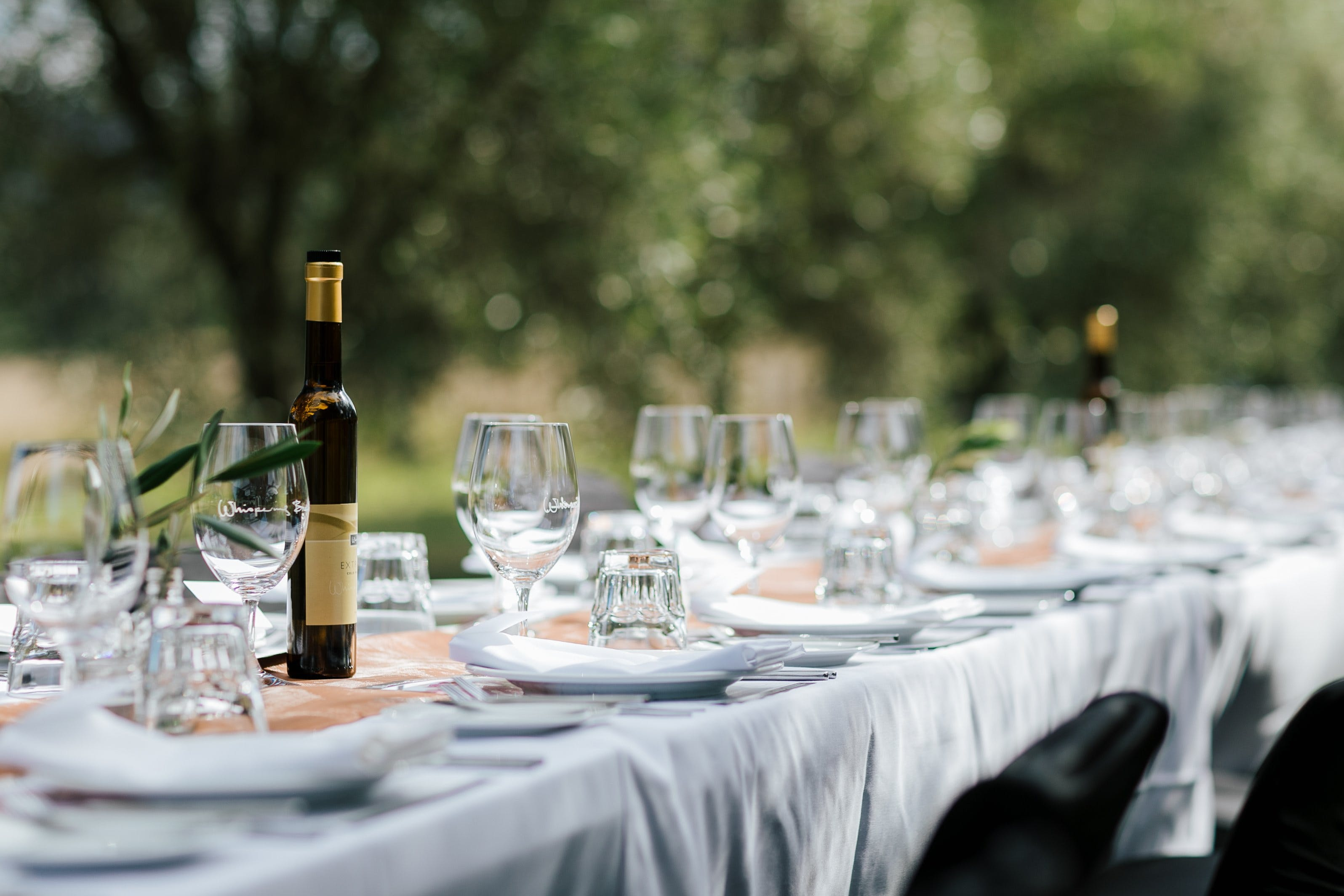 Whispering Brook Olive Long Table Luncheon - Palm Beach Accommodation