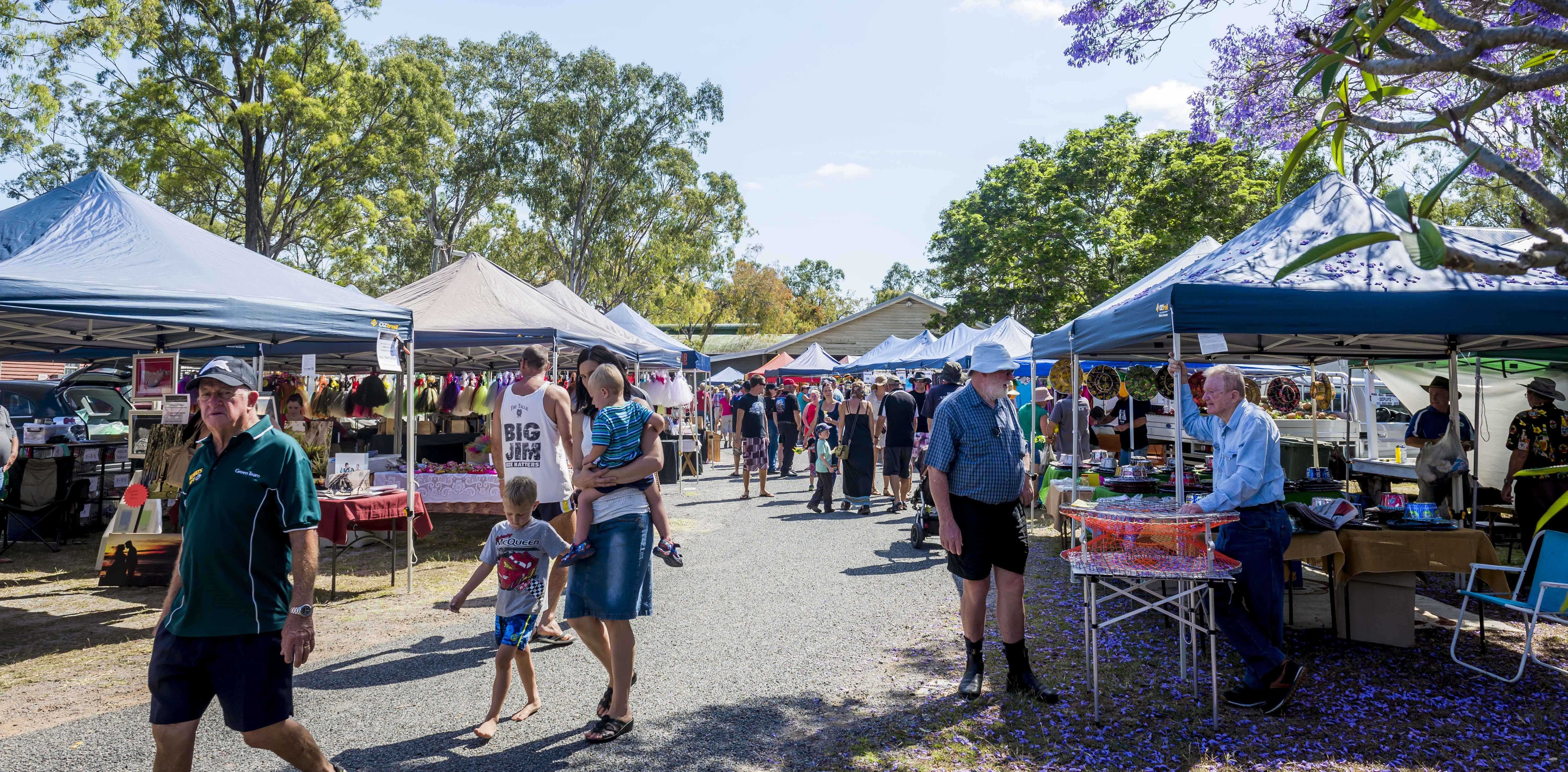 Calliope Historical Village Markets - Palm Beach Accommodation