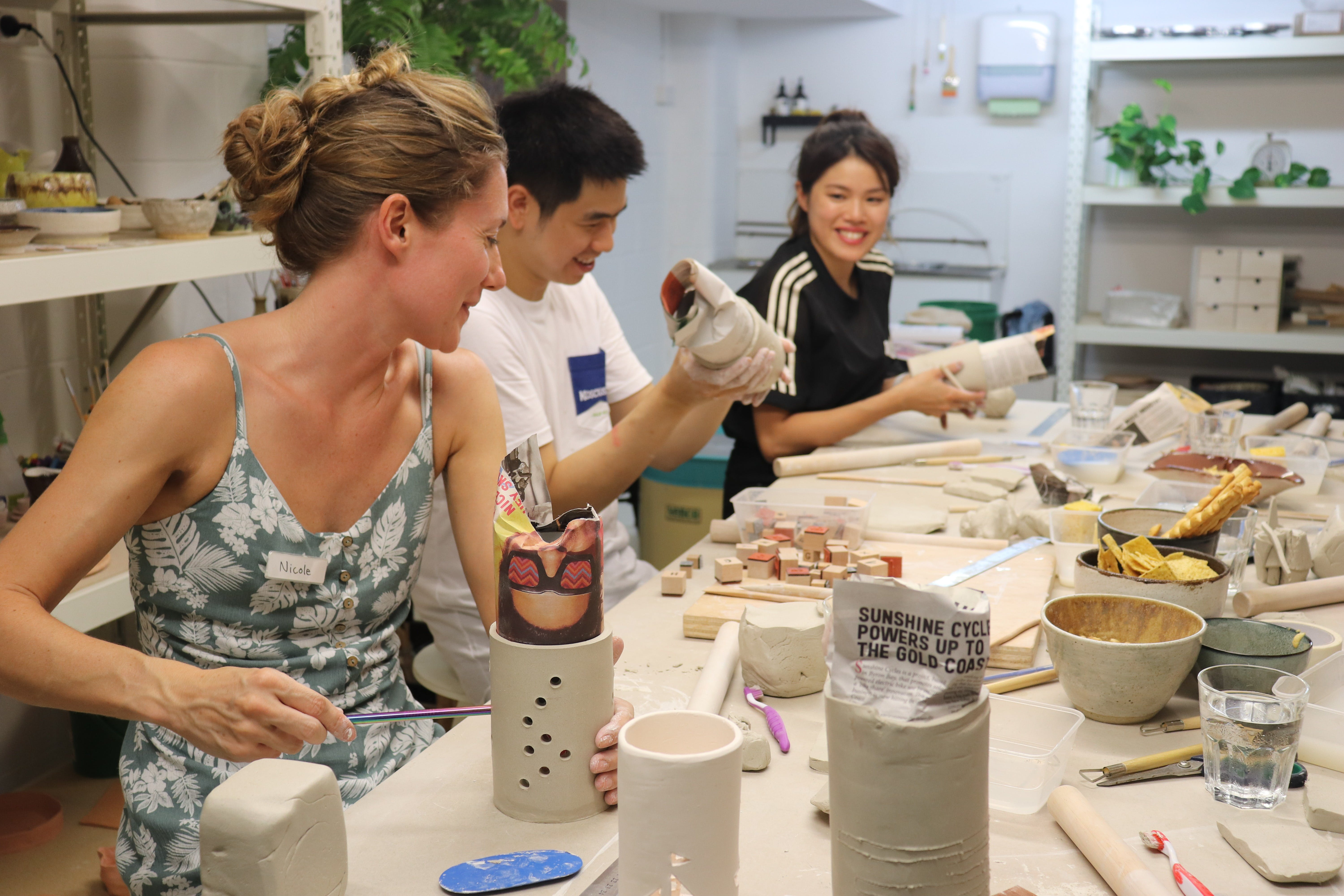 Hand Building Pottery Classes - Palm Beach Accommodation