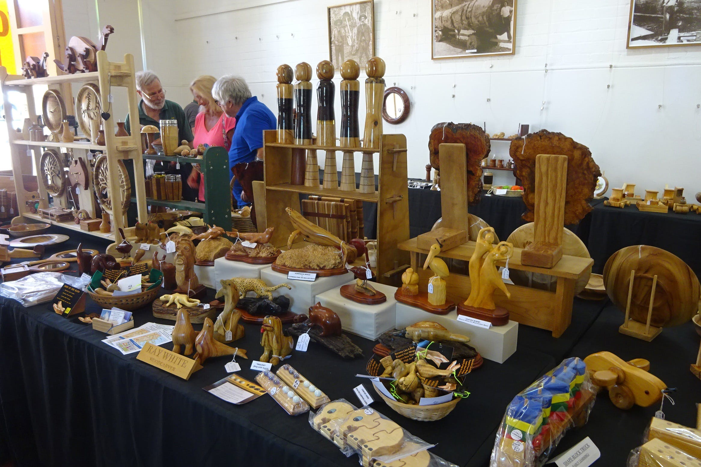 Kiama Woodcraft Group - Exhibition and Sales - Palm Beach Accommodation