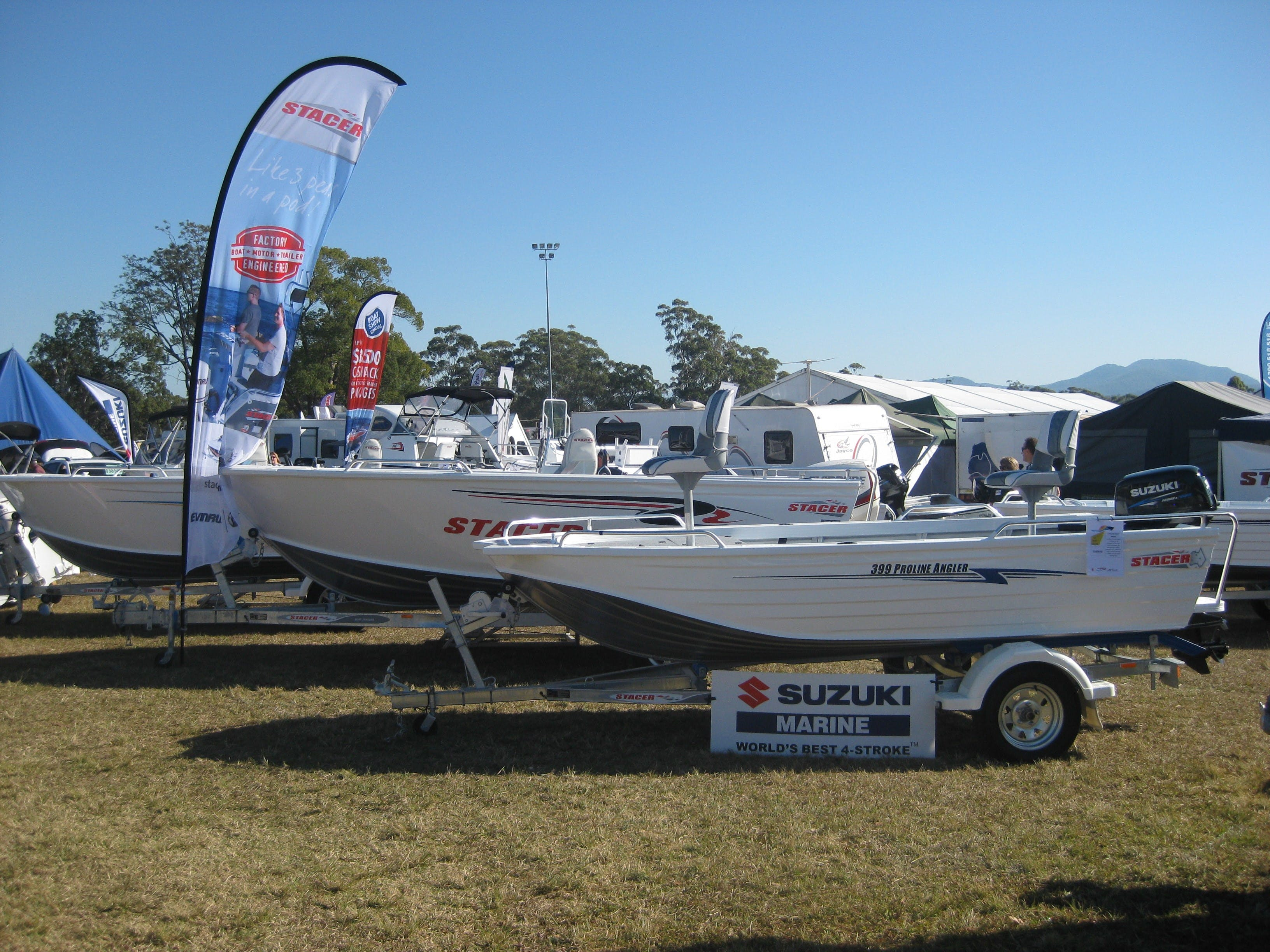 Mid North Coast Caravan Camping 4WD Fish and Boat Show - Palm Beach Accommodation