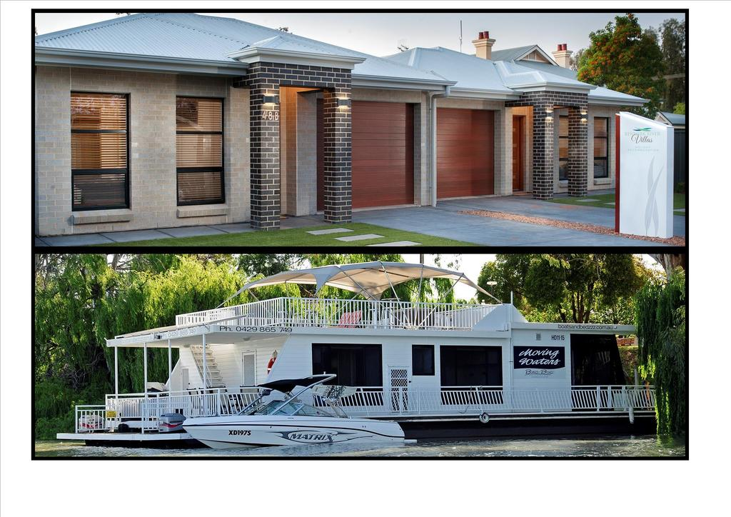Renmark River Villas and Boats  Bedzzz - Palm Beach Accommodation